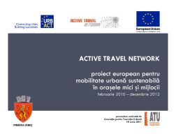 Active Travel Network project