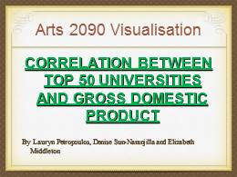 ARTS2090 visualisation presentation