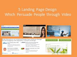 5 Landing Web Pages - How to Use Video to Improve Converston ?