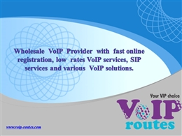 Wholesale VoIP Provider | VoIP Routes.pptx