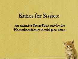 Kitties for Sissies.pptx