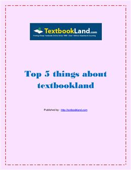 Top 5 things about textbookland