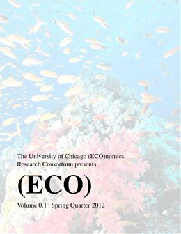 (ECO)nomics Journal Vol 1 Issue 1